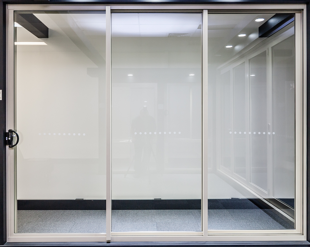 Commercial Double Glass Doors